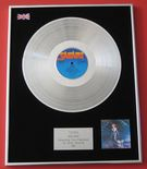 TOYAH - ANTHEM PLATINUM LP presentation Disc